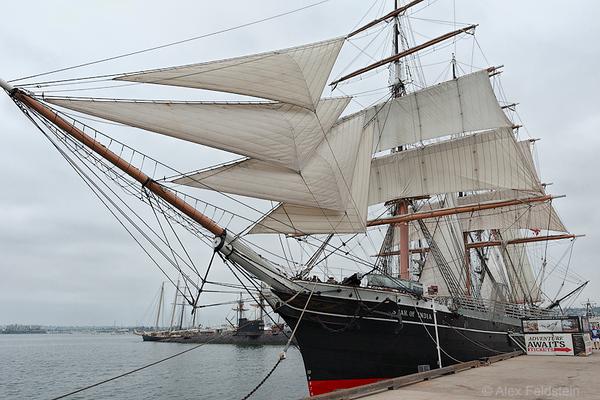 Star of India - 1863 iron bark<br /> San Diego Maritime Museum