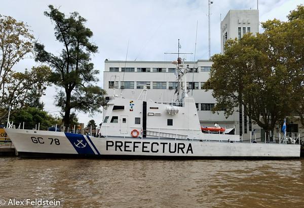 Argentine Coastguard<br /> Tigre Base