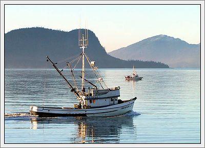 """F/V MANDI J"", Wrangell, Alaska, USA."