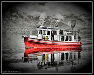 """M/V SOCKEYE"",Anan Bay,Alaska,USA."
