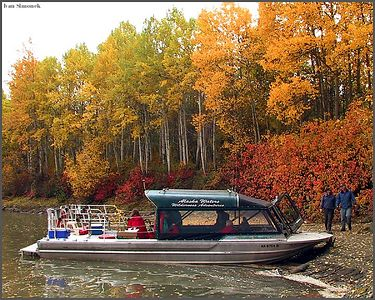 """REST STOP"", Stikine river, Canada.-----""ODPOCINEK"", reka Stikine, Kanada."