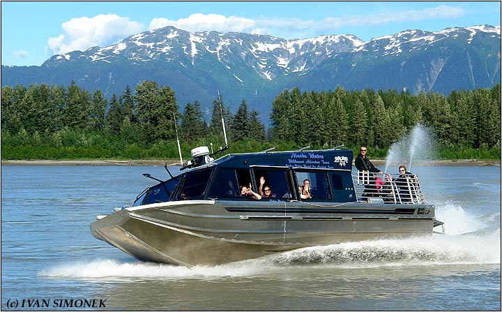 """JOY RIDE"", Alaska`s Waters Chutine Warrior, Stikine river, Alaska, USA."
