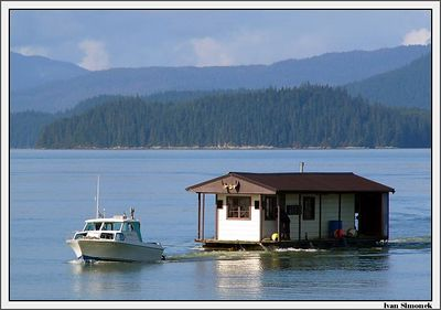 """ROUGHING IT"", returning to Wrangell, Alaska, USA.-----""DRSNACI"", navrat do Wrangellu, Aljaska, USA."