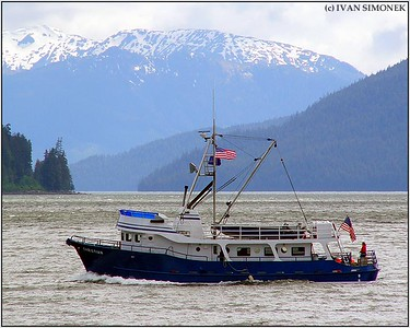 """M/V CHRISTIAN"",near Wrangell,Alaska,USA."