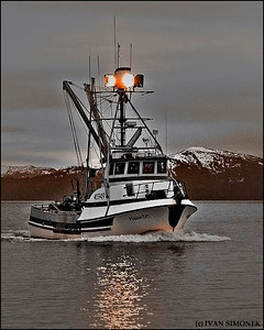 """F/V HAAKON 1"",Wrangell Narrows,Alaska,USA."