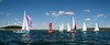 """Sail boat races, running around a navigational can, Cape Small Harbor looking north <br /> <br /> For more Small Point One Design boats and races, visit the Boats - Small Point One Design gallery at <a href=""""http://www.robinrobinsonmaine.com/Boats/SMALL-POINT-ONE-DESIGN/14015115_MsX7vn"""">http://www.robinrobinsonmaine.com/Boats/SMALL-POINT-ONE-DESIGN/14015115_MsX7vn</a>  For more Phippsburg, Maine historical information visit <a href=""""https://www.facebook.com/pages/Phippsburg-History-Center/114338978642314"""">https://www.facebook.com/pages/Phippsburg-History-Center/114338978642314</a>"""