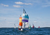 """Spinnakers com sail race, Phippsburg Maine, Casco Bay<br /> <br /> For more Small Point One Design boats and races, visit the Boats - Small Point One Design gallery at <a href=""""http://www.robinrobinsonmaine.com/Boats/SMALL-POINT-ONE-DESIGN/14015115_MsX7vn"""">http://www.robinrobinsonmaine.com/Boats/SMALL-POINT-ONE-DESIGN/14015115_MsX7vn</a>  For more Phippsburg, Maine historical information visit <a href=""""https://www.facebook.com/pages/Phippsburg-History-Center/114338978642314"""">https://www.facebook.com/pages/Phippsburg-History-Center/114338978642314</a>"""
