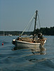 "sail boat used to store fishing gear, nets, floats, etc, Sebasco Harbor, Maine<br /> For more Phippsburg, Maine historical information visit <a href=""https://www.facebook.com/pages/Phippsburg-History-Center/114338978642314"">https://www.facebook.com/pages/Phippsburg-History-Center/114338978642314</a>"