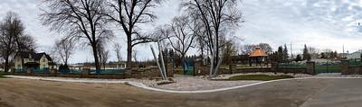 Museum Garden entrance
