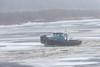 Tug Harricana River on the icey Moose River.