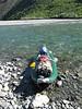 Kent' rigged inflatable kayak