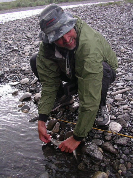 Even Paul gets in the act with a grayling