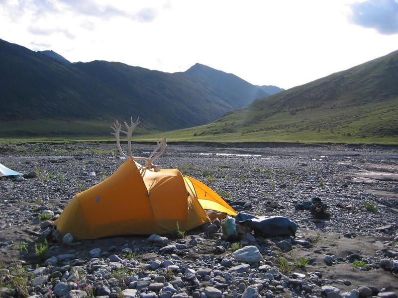 Upstream view at camp 3