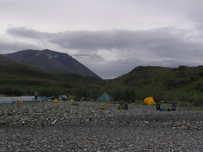 Morning view of our second nights camp.