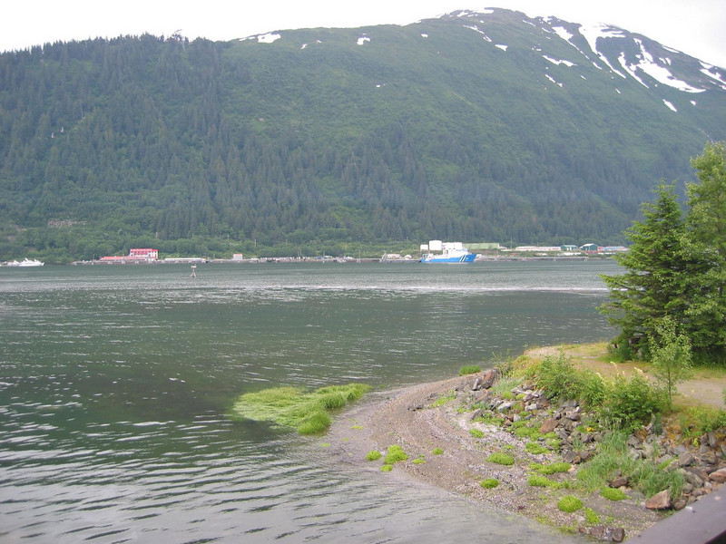 View of Juneau from MichaelÆs friendÆs place.