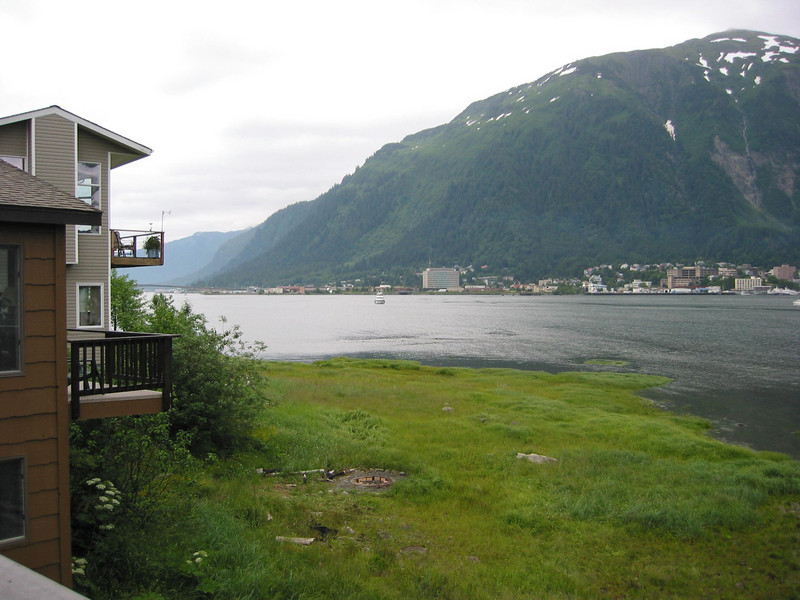 Views of Juneau from MichaelÆs friendÆs place.