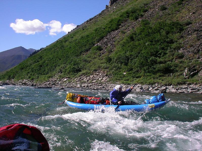 David tackling the rapid