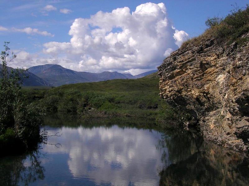 serene scene near camp