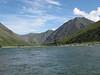 wide river and vistas