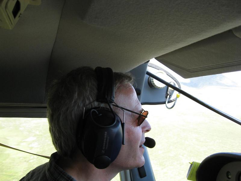 Our bush pilot Kirk