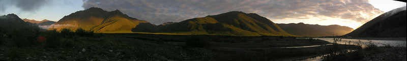 3:30 am panorama from camp.