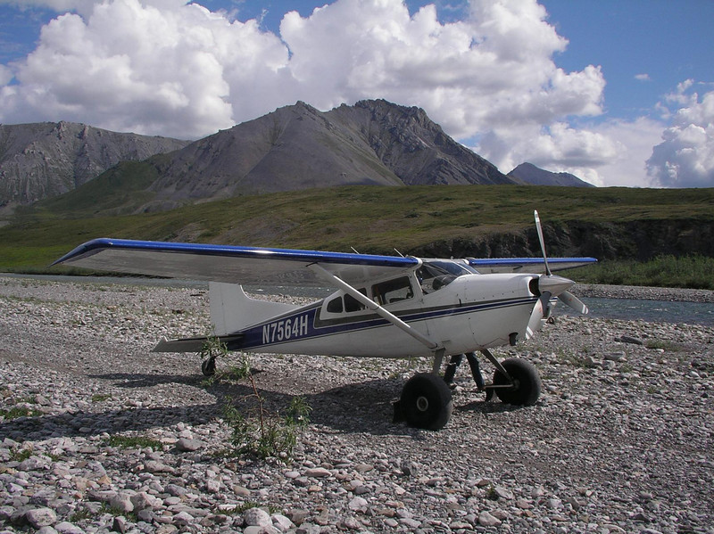 Close up of our bush plane courtesy of Kirk Sweetsir of Yukon Air.