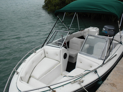 My 17.5 foot Stingray Bowrider when I purchased it in May 2010