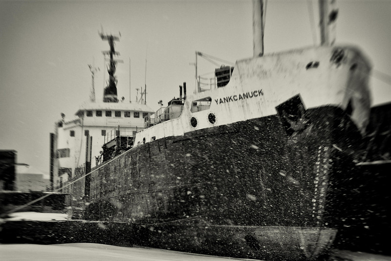 YankCanuck, Purvis Marine, Soo Ontario. The original owner of this vessel was Canadian, his wife, American, hence the name.