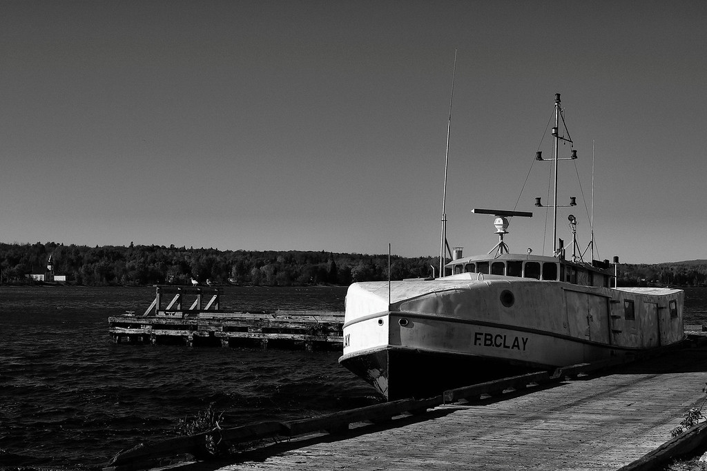 Fishing tug, Batchawana, Ontario