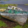 Scottish abandoned boat