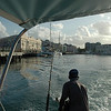 Heading out of Bridgetown, Barbados