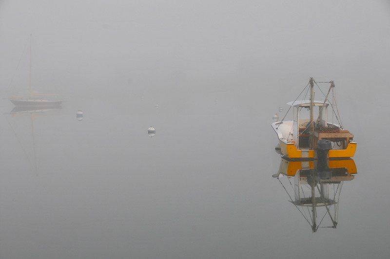 Foggy Morning. W. Falmouth, MA