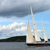 Sailing in Frenchman's Bay, Bar Harbor, Maine.
