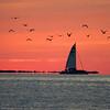 Florida Keys at sunset