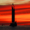 Key West at sunset