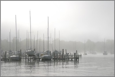 TB-H-0001 Sailboats in Mist