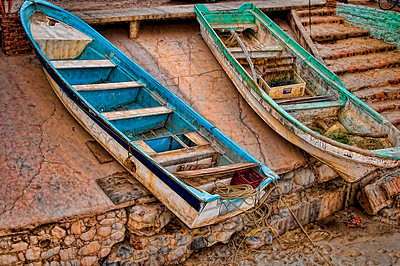 Boats at Bucerias April '09