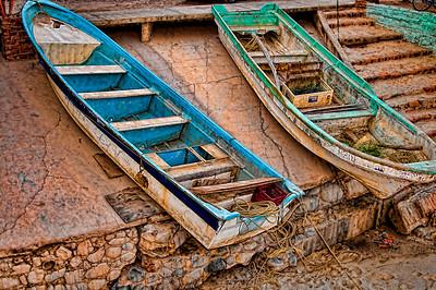 Boats at Bucerias April '09