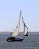 Sailboat near Oak Beach, NY.