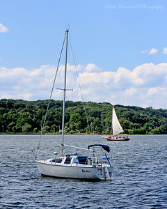 The Sea Mare and The Christeen in Oyster Bay Harbor.