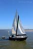 Sailboat near Oak Beach,NY.