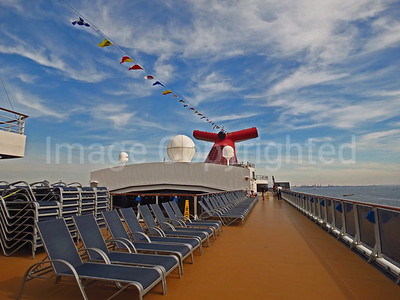 Carnival Pride Cruise ship deck - 5/14/15