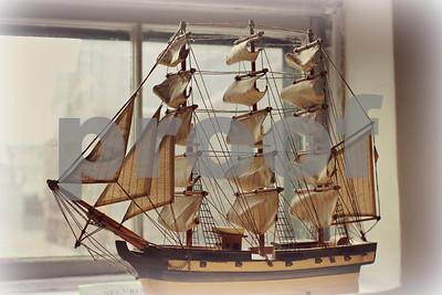 Tall ship model  copyrt 2014 m burgess