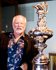 Ernesto Bertarelli brought the Cup to StFYC in 2007 - photo by Abner Kingman