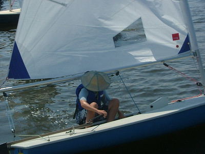 2005 Junior Regatta at Conquest Beach - love the hat, love the shot.  I JUST found out that this was Chris Stevens.