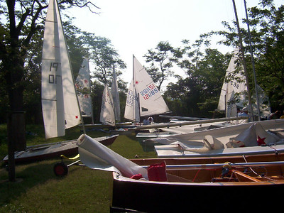 Annual Regatta at Conquest Beach 2004.