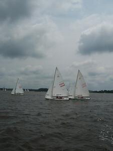 Annual Regatta 2005, Chester River off Conquest.