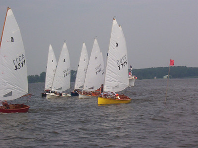 Annual Regatta at Conquest Beach circa 2003/4.