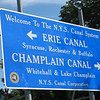 This sign confirms that Elaine and I were now off the Erie Canal and onto the Champlain Canal.