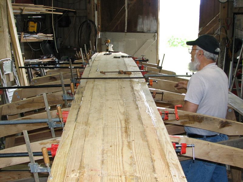 The resin is stronger than the wood itself.  The seams should be water tight, but if they are not, the wood will swell in the water and seal itself.  Old fashion wooden boat building relied on swelling of wood, but that also meant the wood held the water like a sponge, which added significant weight to the boat.